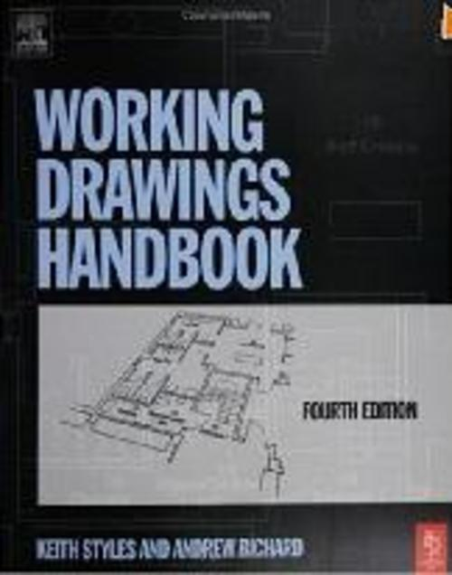 Product picture HAndbook Working Drawings .pdf
